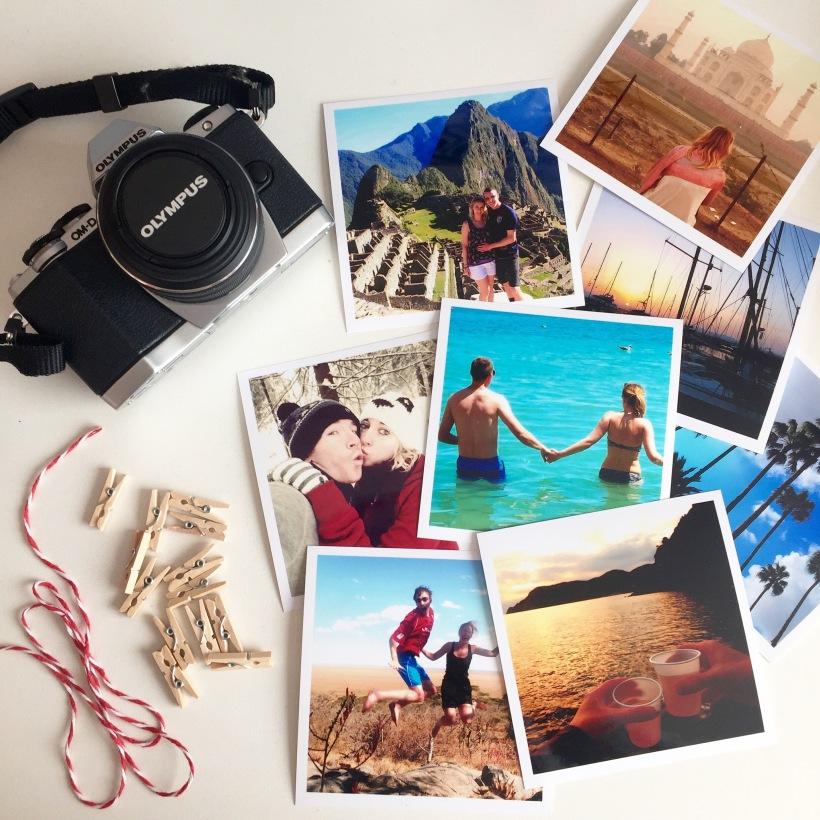 Travel blog photos