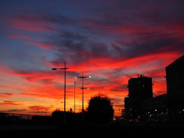 Le Havre sunset