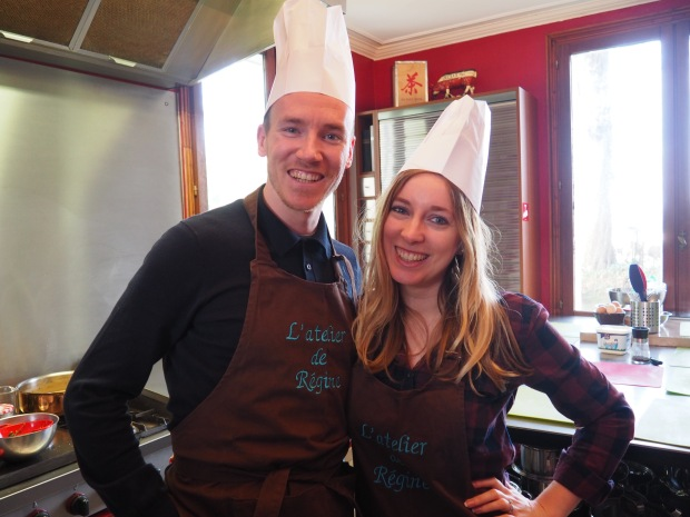 Cooking class Le Havre France