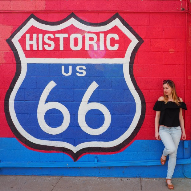 travel blogger route 66