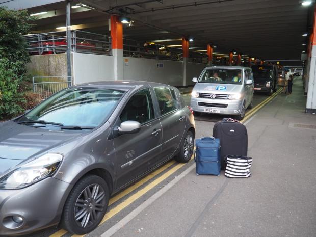 London Gatwick airport parking
