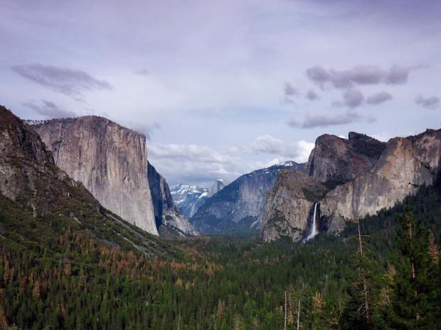 Camping in Yosemite