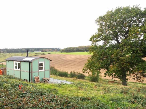 Clavertye Shepherd's Hut