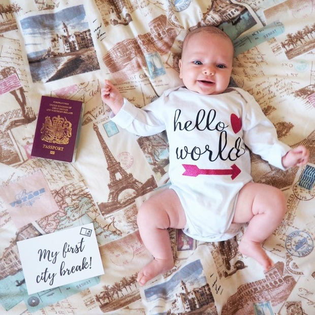 Essentials for travelling with a baby