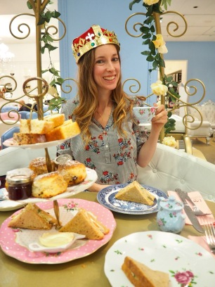 Princess afternoon tea London