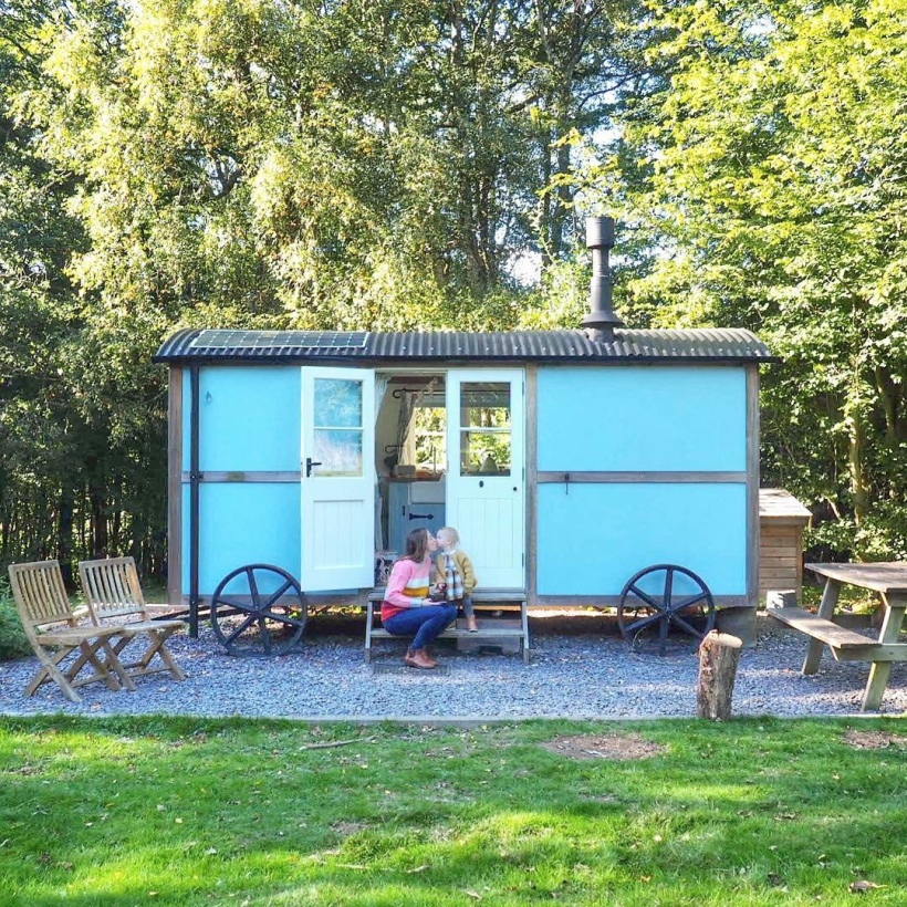 Shepherd's hut Kent UK